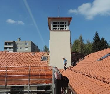 Restauration d'une aile de Maison provinciale