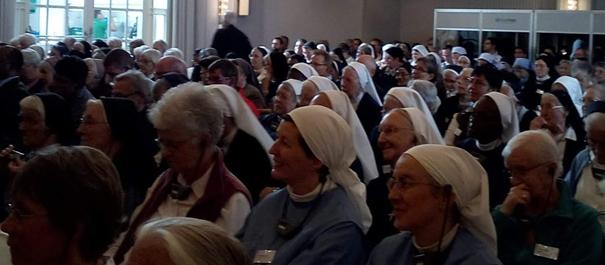 Rencontre des religieux et religieuses de Suisse à Baar